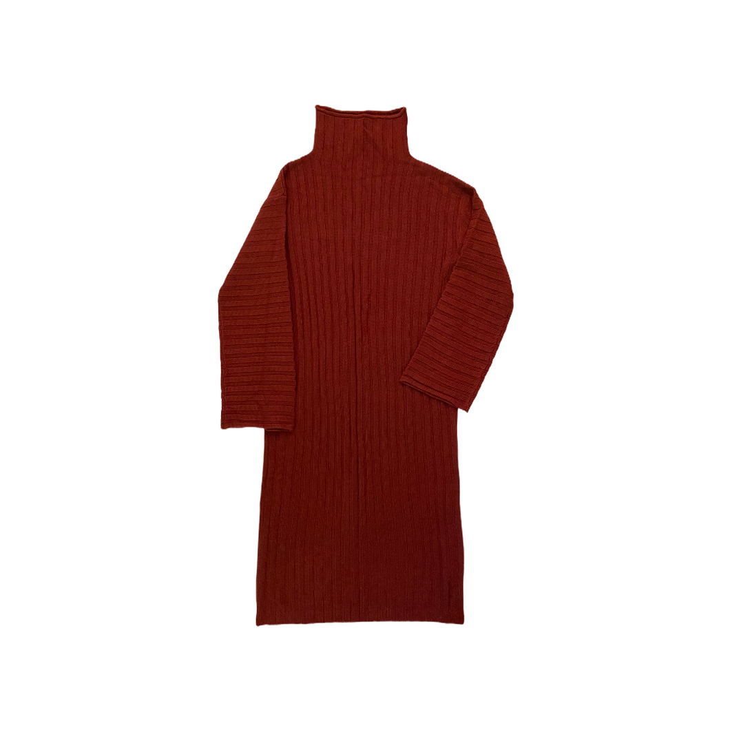 Women's Ribbed Sweater Dress - Crabapple
