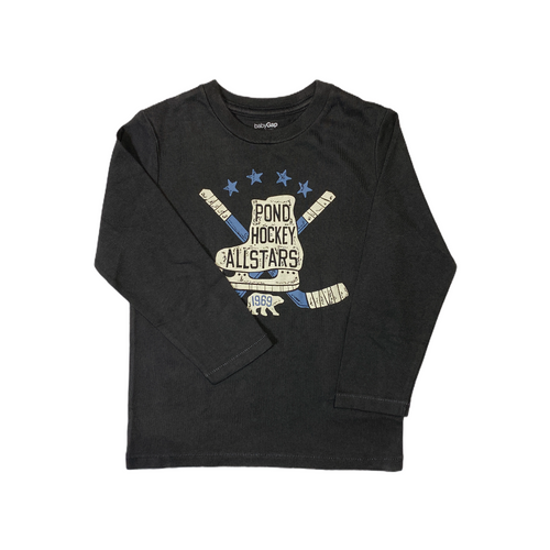 Toddler Pond Hockey Allstars Long Sleeve Crew - Crabapple