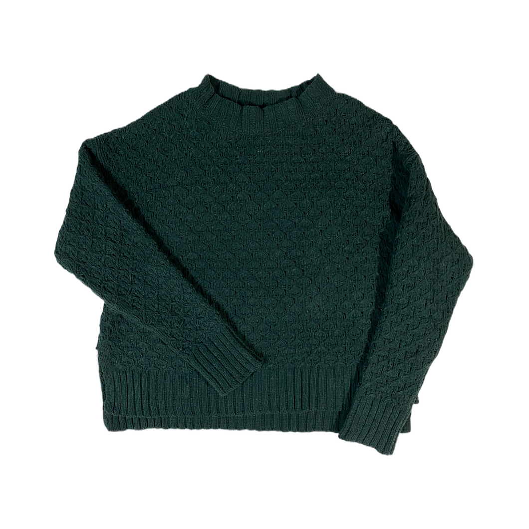 Women's Green Chenille Sweater - Crabapple