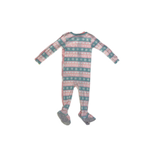 Load image into Gallery viewer, Baby Fairisle & Polar Bear Sleep 'N Play - 2 Piece Set - Crabapple