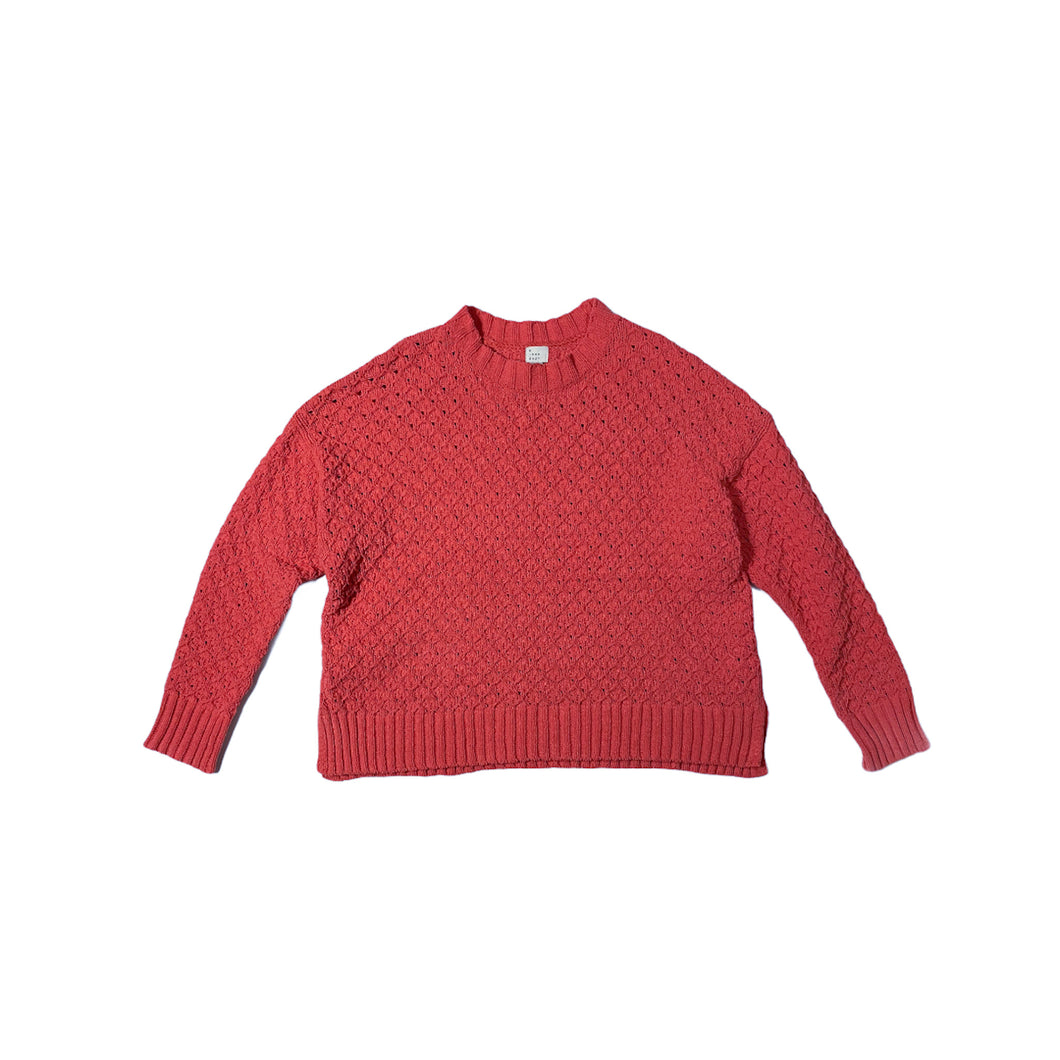 Women's Coral Super Soft Knit Sweater - Crabapple
