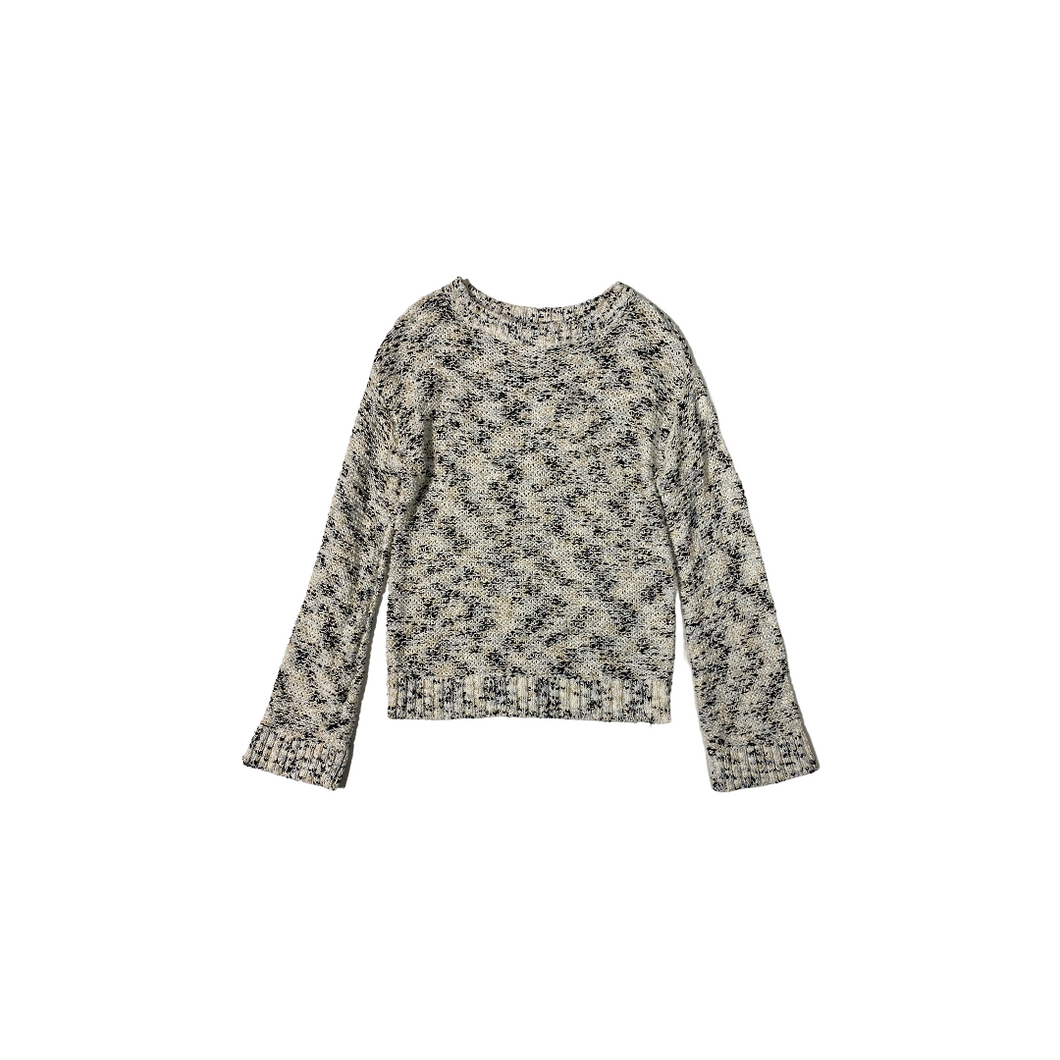 Women's Grey Crewneck Color Effect Pullover - Crabapple
