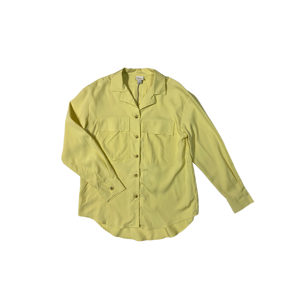 Women's Lemon Button Down Blouse - Crabapple