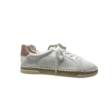 Load image into Gallery viewer, Women's White Shaelyn Espadrille Sneakers - Crabapple