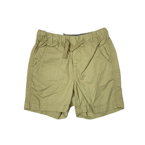 Toddler Khaki Pull On Short - Crabapple