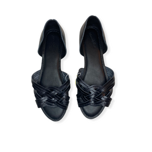 Women's Black Sandal - Crabapple