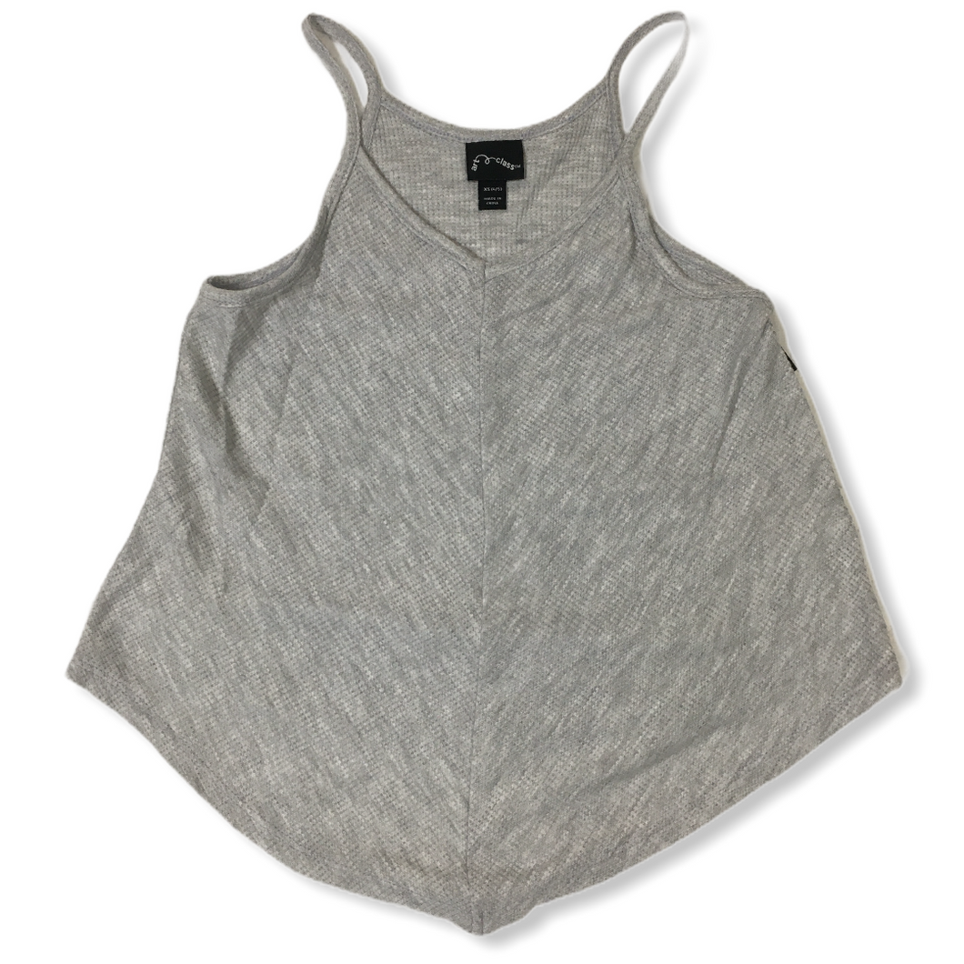 Girls' Heather Grey Tank Top - Crabapple