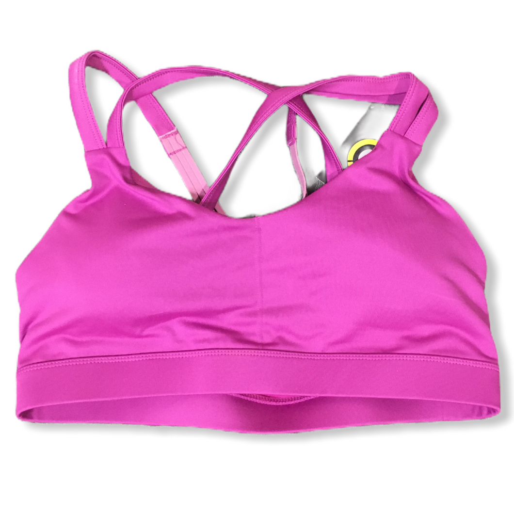 Women's Purple Sports Bra - Crabapple