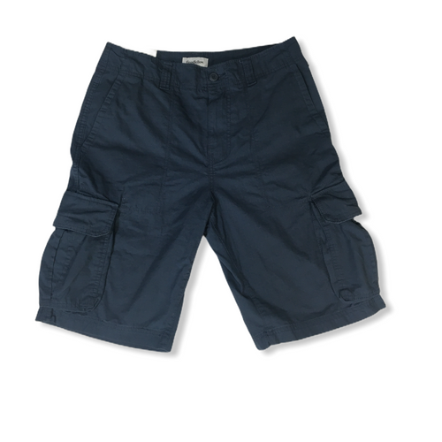 Men's Blue Cargo Shorts - Crabapple