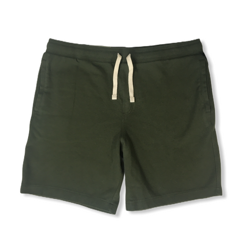 "Men's Green 8.5"" Knit Shorts - Crabapple"