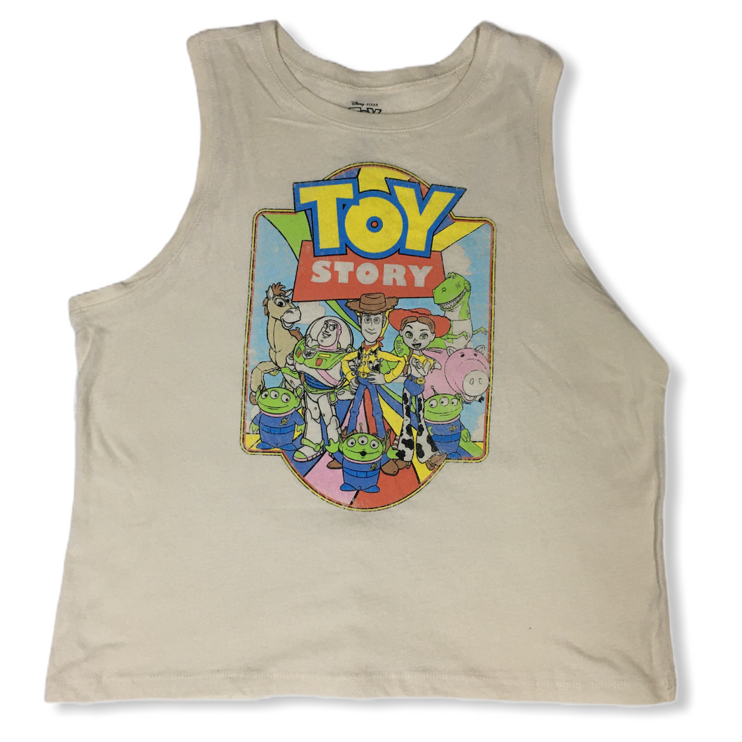 Girls' Toy Story Graphic Tank - Crabapple