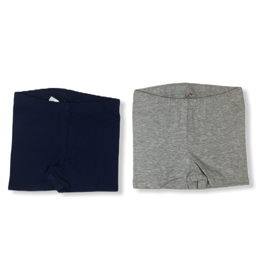 Baby Navy and Grey Shorts - 2 Pack - Crabapple