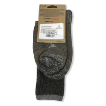 Load image into Gallery viewer, Women's Wool-Blend All Weather Camel Crew Socks - Crabapple