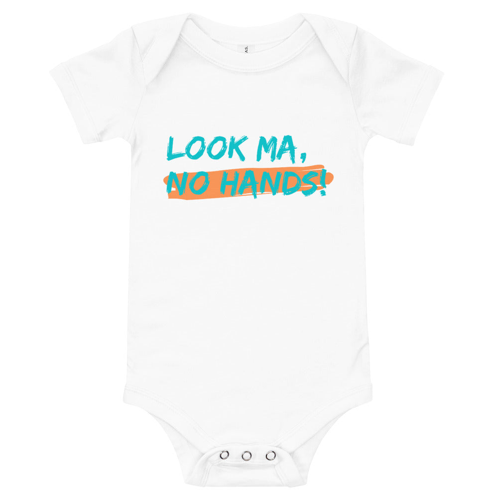 Look Ma, No Hands Baby Onesie