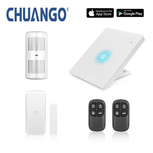 Chuango AW1 Plus WIFI Alarm System Starter Kit - YourSmartLife
