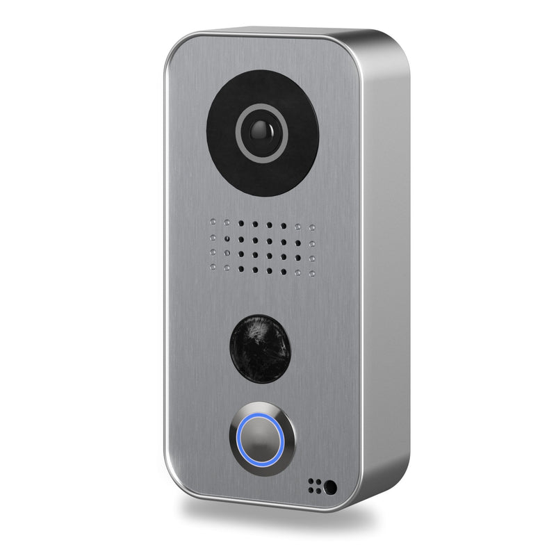 DoorBird IP Intercom Video Door Station D101, Polycarbonate housing, Silver Edition - YourSmartLife