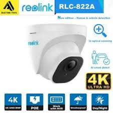 Reolink RLC-822A 4k Smart Detection POE Camera with 3X Zoom - YourSmartLife