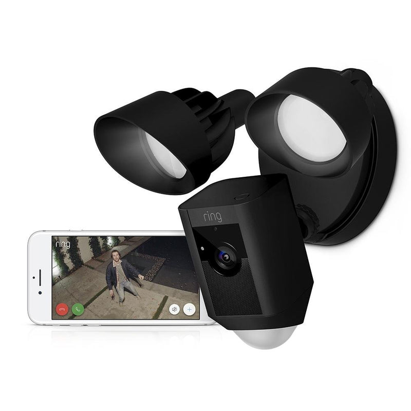 Ring Floodlight Cam - Black - YourSmartLife