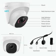 RLC-820A - Smart 4K Ultra HD PoE Camera with Person & Vehicle Detection - YourSmartLife