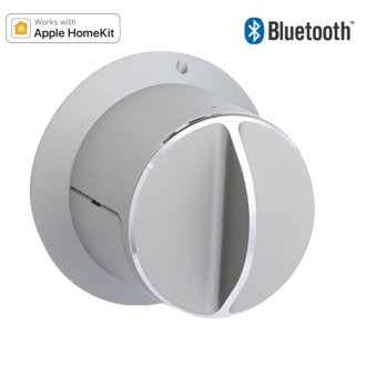 SALTO danalock BLE + Apple Homekit compatible deadbolt. Silver finish. - YourSmartLife