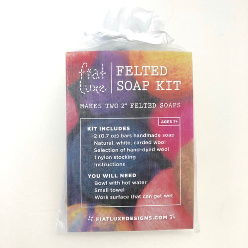 Fiat Luxe Felted Soap Kit