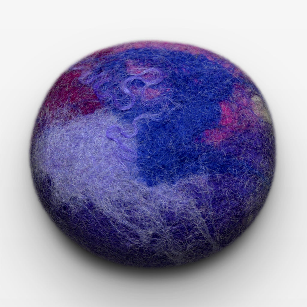 Classic Lavender Felted Soap
