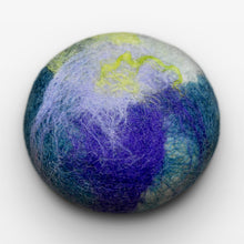 Load image into Gallery viewer, Lavender Mint Felted Soap