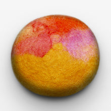 Load image into Gallery viewer, Lemon Zest Felted Soap
