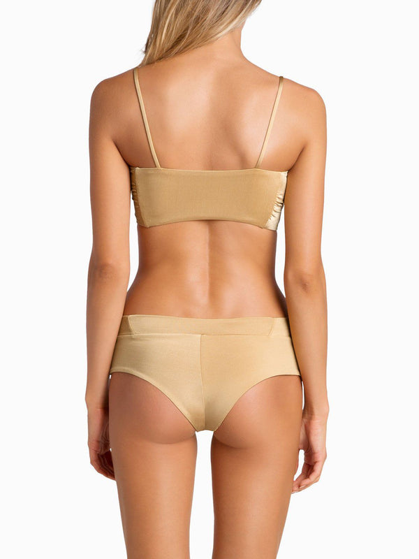 Boys And Arrows Bikini Bottom Raz Pant - Tan Lines