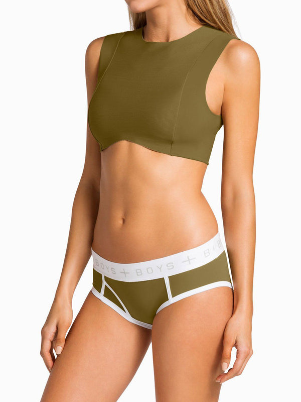Boys And Arrows Bikini Bottom Williams Pant - Army