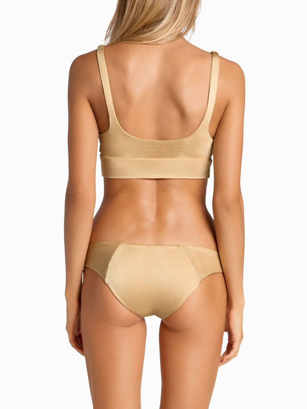 Boys And Arrows Bikini Top Dizzy Izzy Top - Tan Lines