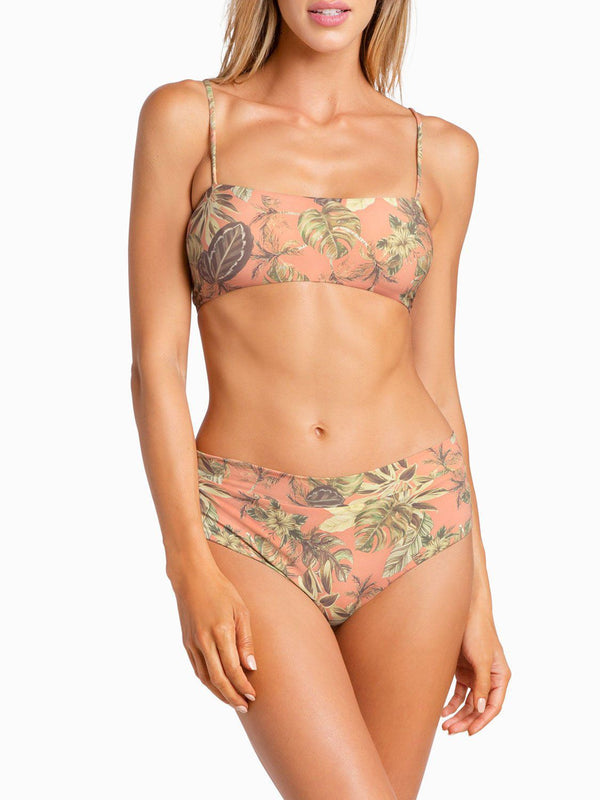 Boys And Arrows Bikini Top XS / Flamingo Hezeus Top - Flamingo