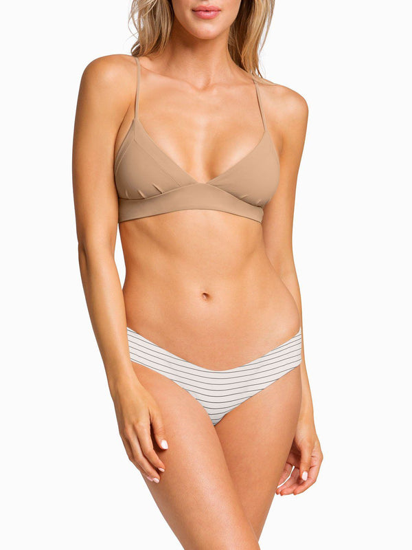 Boys And Arrows Bikini Top XS / Taupe Dana the Delinquent Top - Taupe