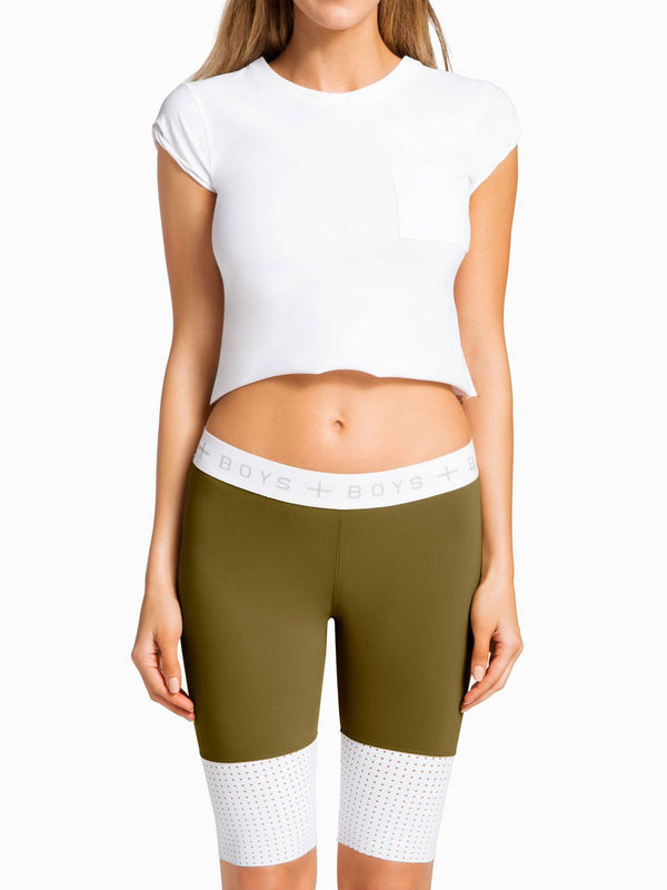 Boys And Arrows Sport Ronda Short - Army