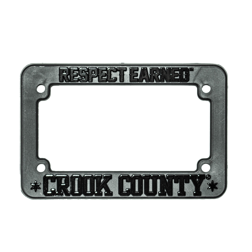 LICENSE PLATE FRAME - MOTO