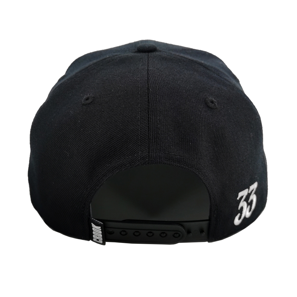 TEDDY SNAPBACK - WHITE/BLACK
