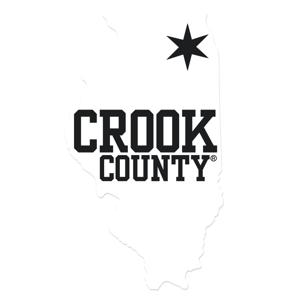 CROOK COUNTY STATE WINDOW DECAL