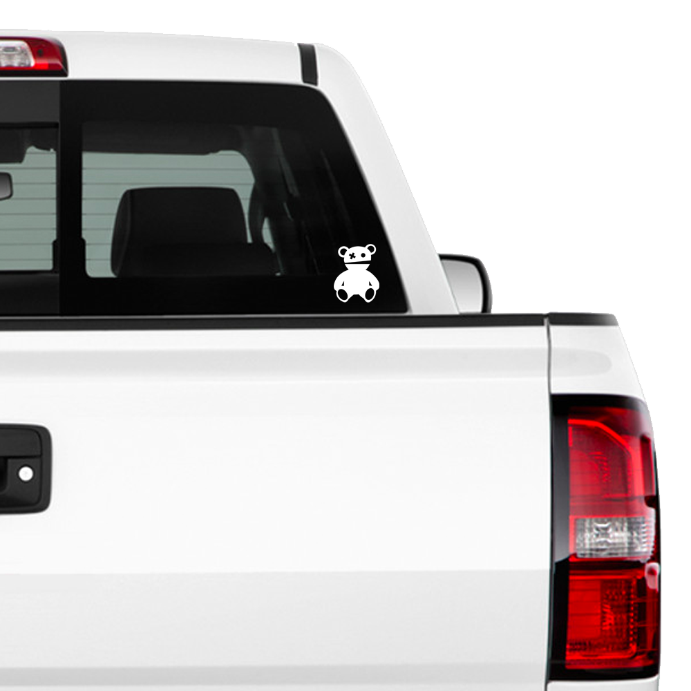 TEDDY WINDOW DECAL