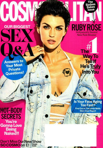 cosmopolitan 2017 march ruby rose
