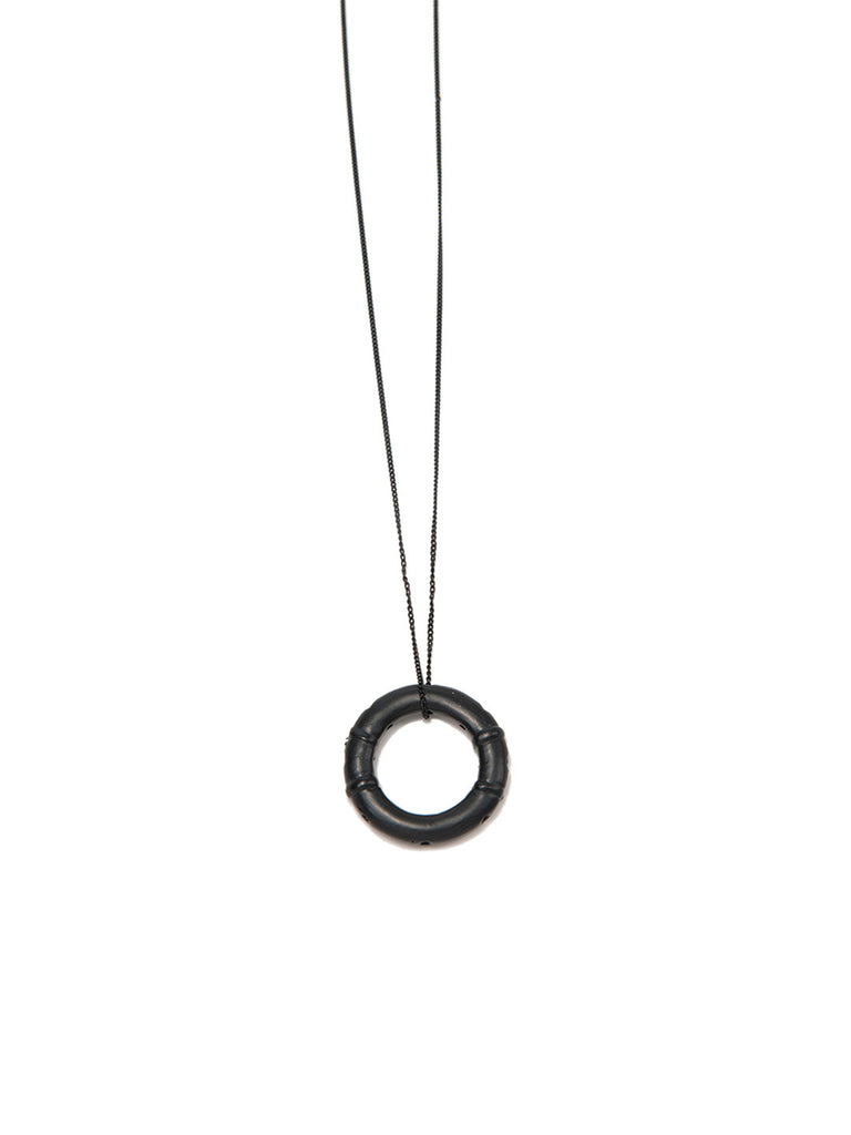 SAVE ME NECKLACE MATTE BLACK