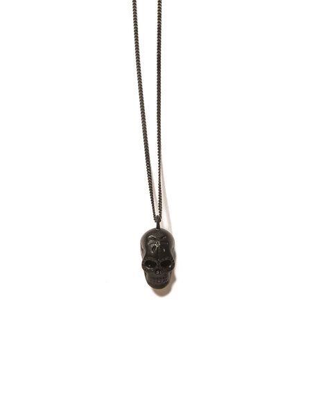 DEATH IN THE TROPICS NECKLACE MATTE BLACK