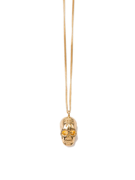 DEATH IN THE TROPICS NECKLACE GOLD