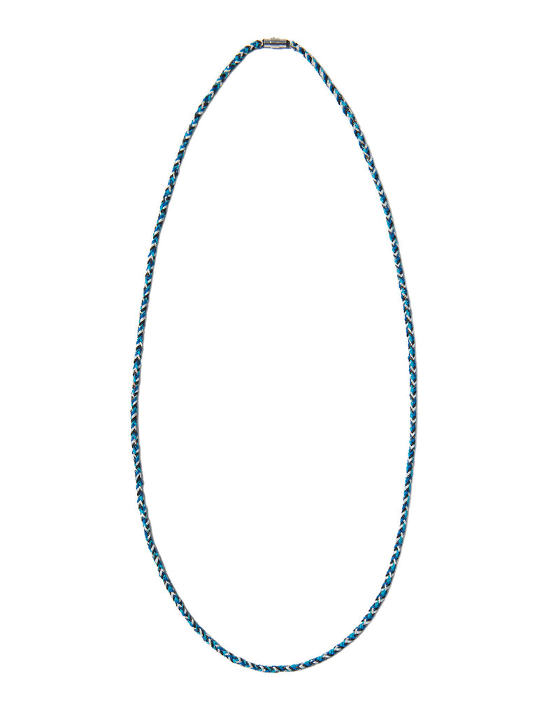 RIPTIDE NECKLACE BLUE - Venessa Arizaga