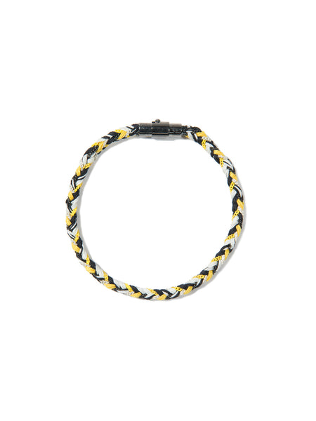 RIPTIDE BRACELET BLACK/YELLOW/WHITE