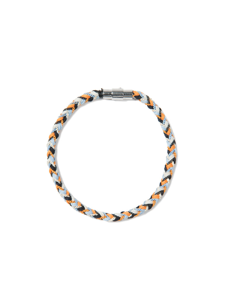 RIPTIDE BRACELET BLUE/ORANGE/WHITE - Venessa Arizaga