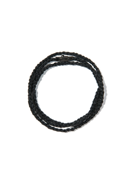 RIPTIDE TRIPLE WRAP BRACELET BLACK