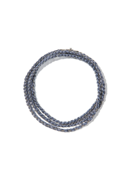 RIPTIDE TRIPLE WRAP BRACELET GRAY