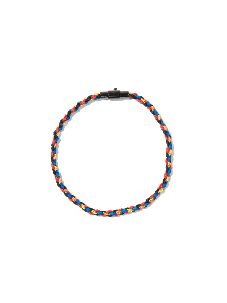 RIPTIDE SKINNY BRACELET RED/YELLOW/BLUE - Venessa Arizaga