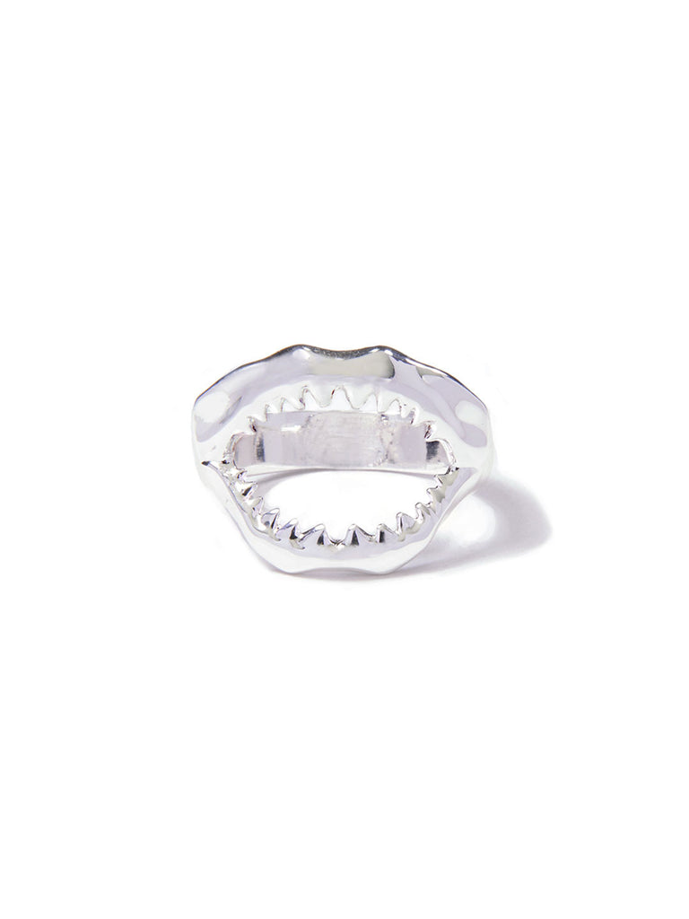 SHARKY RING SILVER