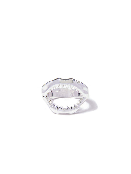 MINI SHARKY RING SILVER